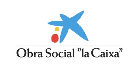 Resultado de imagen de obra social la caixa logo