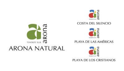 logo vector Arona Turismo