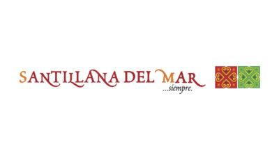 logo vector Santillana del Mar Turismo