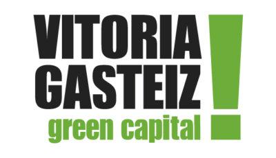 logo vector Vitoria Gazteiz Green Capital