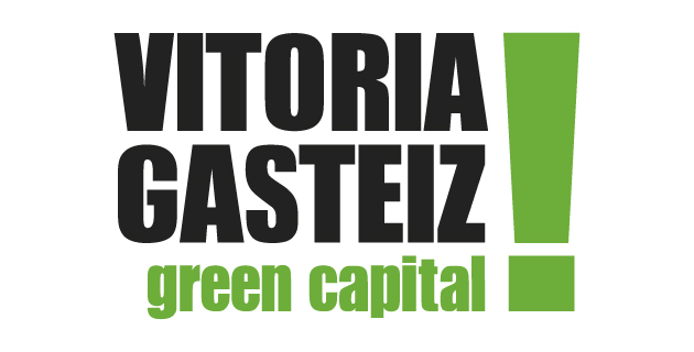 logo vector Vitoria Gazteiz Green Capital
