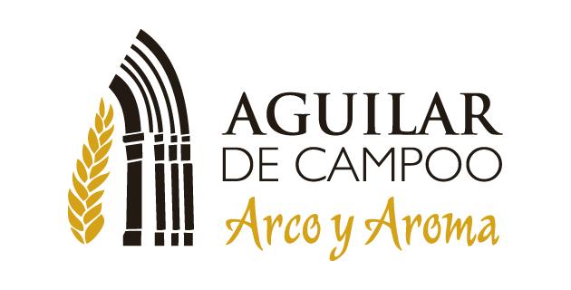 logo vector Aguilar de Campoo Arco y Aroma