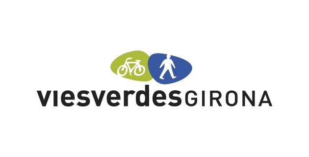logo vector Vías Verdes Girona