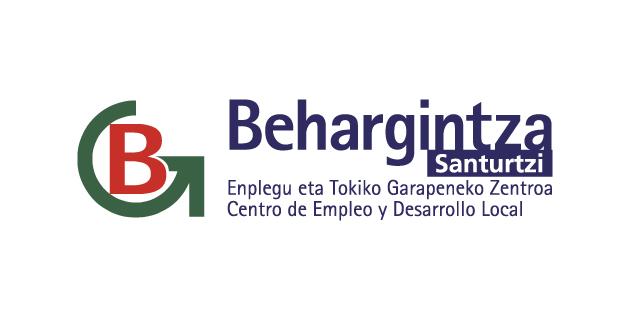 logo vector Behargintza Santurtzi