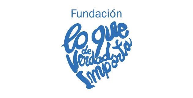 logo vector Fundación lo que de verdad importa