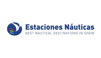 logo vector Estaciones Náuticas