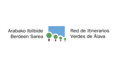 logo vector Red de Itinerarios Verdes de Álava