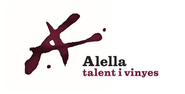 logo vector Alella, talent i vinyes