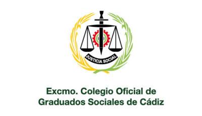 logo vector Colegio Oficial de Graduados Sociales de Cádiz