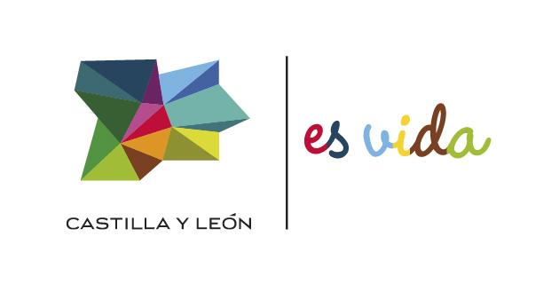 logo vector Castilla y León es vida