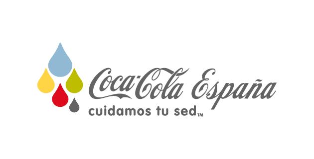 logo vector Coca-Cola cuidamos tu sed
