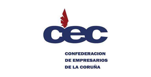 logo vector CEC (Confederación de Empresarios de La Coruña)