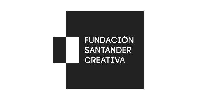 logo vector Fundación Santander Creativa