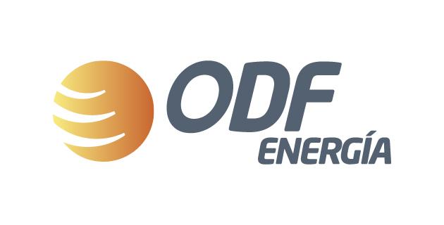 logo vector ODF Energía