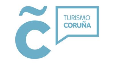 logo vector Turismo Coruña