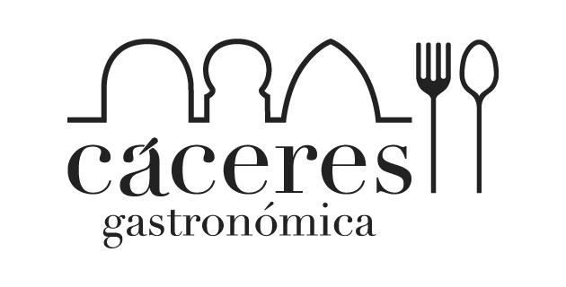 logo vector Cáceres Gastronómica