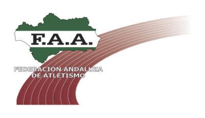 logo vector Federación Andaluza de Atletismo