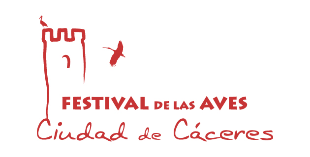 logo vector Festival de las Aves Ciudad de Cáceres