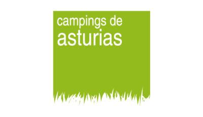 logo vector Campings de Asturias