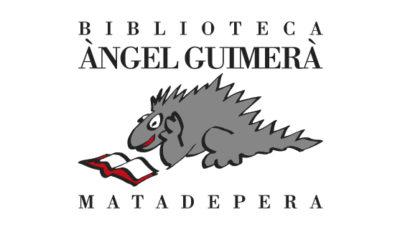 logo vector Biblioteca Angel Guimera