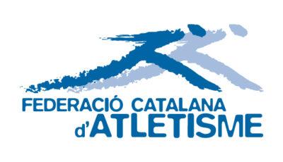 logo vector Federació Catalana d'Atletisme