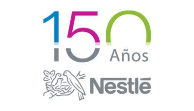 logo vector Nestlé 150 aniversario