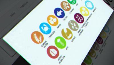 iconos vector alérgenos gratis