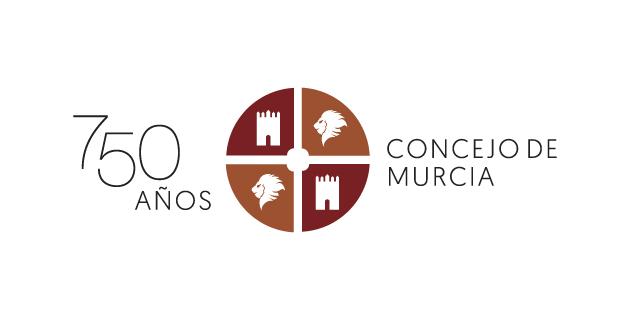 logo vector 750 años Concejo de Murcia