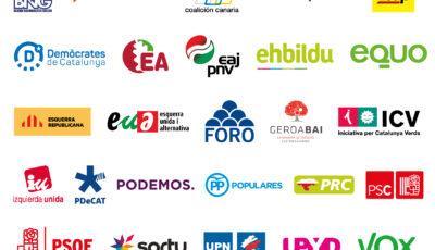logo vector Partidos Políticos