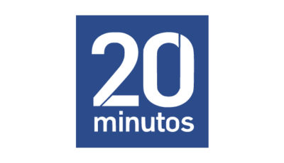 logo vector 20 minutos