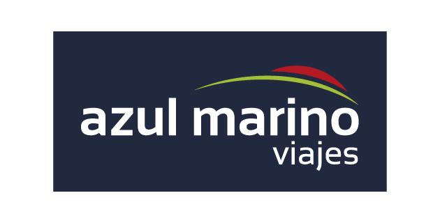 logo vector Azul Marino Viajes