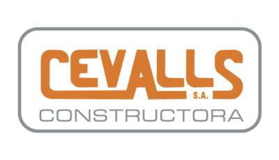 logo vector Cevalls Constructora