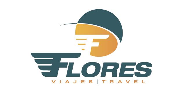 logo vector Viajes Flores