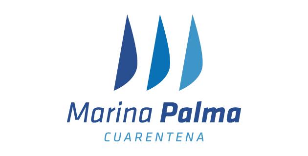 logo vector Marina Palma Cuarentena