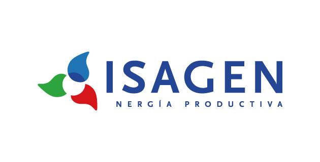 logo vector ISAGEN