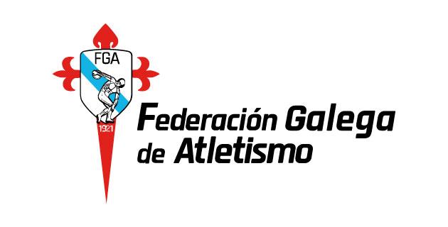 logo vector Federación Galega de Atletismo