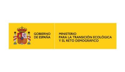 logo vector Ministerio de Transición Ecológica y el Reto Demográfico