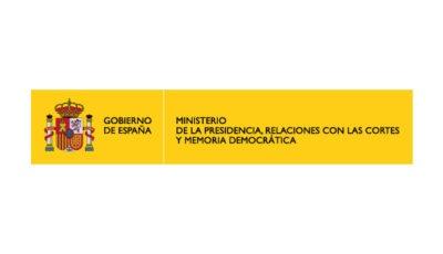 logo vector Ministerio de Presidencia, Relaciones con las Cortes y Memoria Democrática