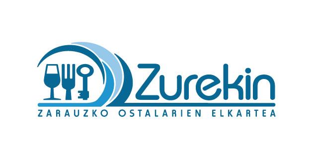 logo vector Zurekin, Zarauzko Ostalari Elkartea