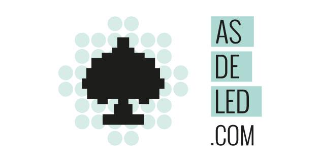 logo vector AS de LED