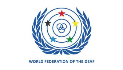 logo vector World Federation of the Deaf