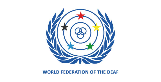 logo vector World Federation of the Deaf