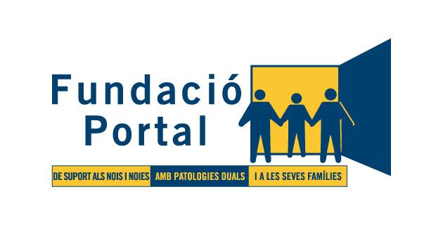 logo vector Fundació Portal