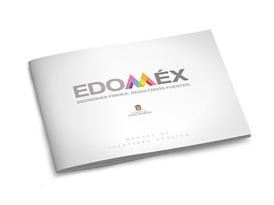 Gobierno del Estado de México manual de identidad gráfica