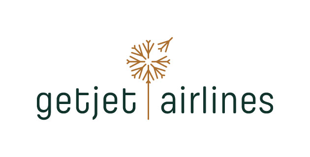 logo vector GetJet Airlines