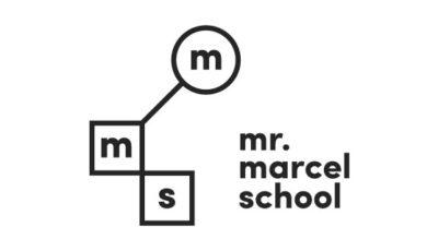 logo vector Mr Marcel School