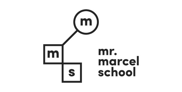logo vector Mr Marcel School