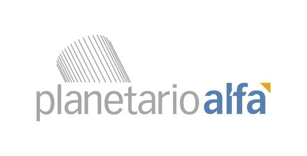 logo vector Planetario Alfa