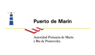 logo vector Puerto de Marín