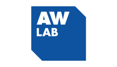 logo vector AW LAB